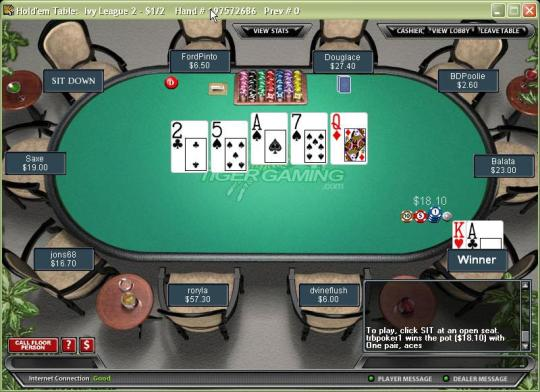Pokerstars river card