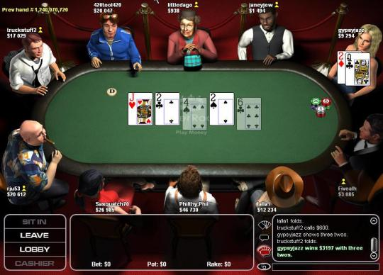 Average rake online poker
